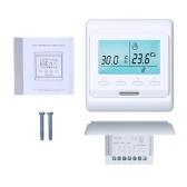 WiFi-programmierbares Smart-Thermostat Eingebauter Sensor mit LCD-Display Digitaler Temperaturregler APP-Fernbedienung (3A mit WiFi)