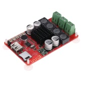 TPA3116 2*50W Wireless BT 4.0 Audio Receiver Board Stereo Amplifier Module DC 8-26V with Remote Control
