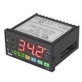 Mypin multifunzionale Intelligent Temperature Controller Dual 4 display digitale ℃ / ℉ Termostato PID Riscaldamento Raffreddamento controllo TC / RTD SSR Ingresso Uscita 1 relè di allarme 96mmX48mmX80mm 90-260V LED