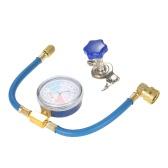 R134A Recharge de climatisation Tuyau de mesure Vanne de jauge Pipe de réfrigérant