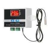 GeekTeches TMC-W2000 DC12V termostato di alta precisione digitale LCD con sensore sonda impermeabile