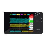 "DS212 DSO Portable Mini 2 Channel Digital Oscilloscope Pocket Size USB Interface2.8"" Full Color TFT Display 8MB Memory Storage Bandwidth 1MHz Sampling Rate 10MSa/s"
