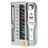 12pcs Multi-functional Ratchet Screwdrivers Set Precision Screw Bits Set with Extension Rod