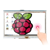 5 Inch HD LCD Display 800x480 Pixel Touch Screen Monitor Pi Pi2 A+/B+/2B Module with Touch Pen for Raspberry