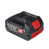 Batería de ion de litio de reemplazo de la batería de iones de litio de 18V 4000mAh para Bosch Power Tools
