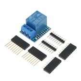 Módulo de escudo de relés 3 piezas para placa de desarrollo Arduino Mini D1