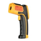 SMART SENSOR Mini Handheld Non-contact LCD Infrared Thermometer -32~550°C/-26~1022°F 12:1 Temperature Meter Data Hold Function
