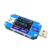 RD UM25 USB 2.0 Type- C Color LCD Display Tester Sem versão de comunicação