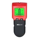 Detector de pared KKmoon Stud Finder con gran LCD Digital Clavijas de madera Buscador central Metal y cable de CA Escáner de alambre en vivo Detección de advertencia - Batería incluida