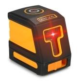 Livelle autolivellanti a 2 linee Livello laser rosso Livellamento orizzontale e verticale professionale Cross Level Leveling Kit laser con linee laser selezionabili e diffusione del fascio verticale