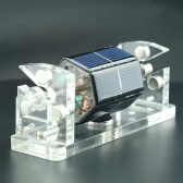 クリエイティブ六角太陽磁気浮上水平浮上スタンド教育モデルギフトモーター