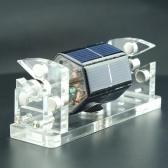 Creative Hexagon Solar Magnetic Levitation Horizontal Levitating Stand Educational Model Gift Motor