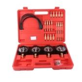 Professional Portable Fuel Vacuum Carburetor Synchronizer Set 4 Gauges Tool Kit For Motorcycle Car Universal