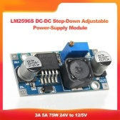 LM2596S DC-DC Step-Down Adjustable Power-Supply Module LM2596 Voltage Regulator 3A 5A 75W 24V to 12/5V