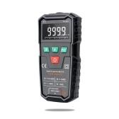 FUYI FY108S 9999 имеет значение True RMS Цифровой мультиметр Размер ладони Автоматический мультиметр Ручной мини-универсальный измеритель Высокоточный электрик Многофункциональный цифровой мультиметр Измерение тока AC / DC Напряжение непрерывности Зуммер