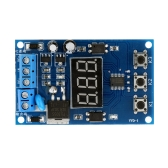 Multi-function MOS de commande Relais Cycle Timer Module Delay temps Interrupteur CC 12/24V
