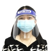 Face Shield Reusable Transparent Safety Face Mask Antifog Dustproof Fluid Resistant Full Protective Mask Visor