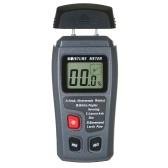 Wood Moisture Test Moisture Meter 4 Modes Portable Hygrometer Pin Type Timber Humidity Instrument Handheld Water Leak Detector LCD Display