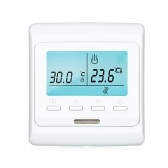 Programmable Smart Thermostat for Electric Heating Devices Buit-in Sensor Large LCD Screen with Backlight  Digital Temprature Controller
