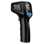 MESTEK -50 ~ 600 ℃ Termómetro infrarrojo LCD digital sin contacto portátil Probador de temperatura IR industrial Pirómetro con emisividad ajustable