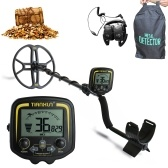 TIANXUN TX-850 Metal Detector with12 Inch Butterfly Search Coil Handheld Metal Detector Easy Installation High Sensitivity High Accuracy Metal Detecting Tool Jewelry Treasure Underground Gold Metal Finder Pinpointer for Adults and Kids