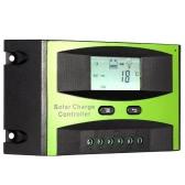 15 a 12V/24V régulateur de Charge solaire PWM charge température Compensation surcharge Protection LCD affichage solaire hors réseau système
