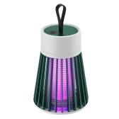 KKmoon Mosquito Trap Zapper Портативная лампа для уничтожения комаров Электрические москитные лампы Перезаряжаемая электронная ловушка для насекомых для домашнего офиса Спальня Детская комната Кемпинг