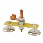 Сильный магнитный сварочный зажим заземления, разъем, железный локатор артефактов, электромагнитный держатель, инструмент