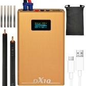 ポータブルミニDIY18650バッテリースポット溶接機OLEDディスプレイ20ギアの電力調整と20ギアの遅延調整可能チャージパル機能付き