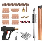 86pcs Dent Puller Kit Car Body Repairing Tools Spot Welding Electrodes Spotter Weld Machine Removing Straightenging Dents Remover Device
