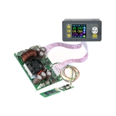 Contrôleur programmable numérique LCD Buck-Boost Module d'alimentation Courant de tension constant DC 0-50.00V / 0-20.00A Sortie Communication Version + Carte Bluetooth DPS5020-USB-BT