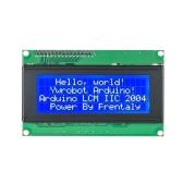 Module d'affichage LCD bleu 20X4 caractères série IIC / I2C / TWI 2004 204 pour Arduino