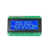 LCD2004 Display Module with 4 Lines * 20 Characters LCD Display Module with Blue Backlight for Arduino