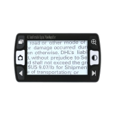 4,3-Zoll 6x-16x Mobile tragbare digitale Lupe Handheld elektronische Lesehilfe Unterstützung AV-Ausgang zum TV mit 12 Arten von Farbmodi TV-out Akku-Freeze und Defreeze-Funktion
