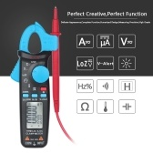 BSIDE Professional True RMS LCD Digital Clamp Meter Multimeter