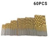 Straight Shank Twist Drill Broca de acero de alta velocidad 60pcs