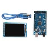 3,5 avançam o módulo da tela do LCD de TFT com placa de MEGA 2560 R3
