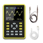 "5012H 2.4"" LCD Display Screen Handheld Portable Digital Mini Oscilloscope with 100MHz Bandwidth and 500MS/s Sampling Rate"