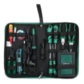 LAOA LA101353 53PCS Kit di riparazione per telecomunicazioni Set di cacciaviti per saldatore elettrico Utility Coltello Pinza Strumenti di impugnatura Kit di telecomunicazione