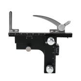 Microscopio Piattaforma professionale Attaccabile con tavoletta meccanica XY Moveable Vernier Caliper con scala