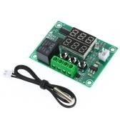 XH-W1219 Controlador de temperatura digital Dual Termostato digital Termômetro Módulo de controle de aquecimento e refrigeração Módulo de controle digital duplo de temperatura Placa PCB