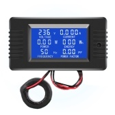 AC Digital Display Power Monitor Meter Voltmeter Ammeter Frequency Meter