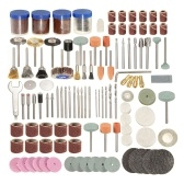 """166Pcs 1/8 """"Accessoires de perceuse à molette pour outils rotatifs pour le ponçage"""