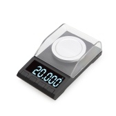 Portable Digital Scale Gold Jewelry Scale Powder Scale Mini Pocket Electronic Scale Professional Digital Milligram Scale High Precision 20g*0.001g DH-8068