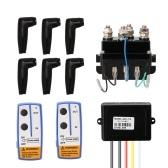 Комплект электрических лебедок с электромагнитным реле лебедки DC12V Universal 400A