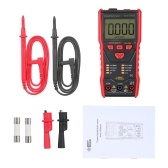 SMART SENSOR Full-automatic Multimeter LCD Display NCV Mode High Precision Multifunctional Small Multimeter Portable Electrical Household Universal Meter with Flashlight ST833D
