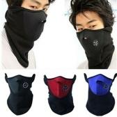 Зимние лыжные мотоциклетные байкерские маски из неопрена Спортивные маски с подогревом для шеи KY
