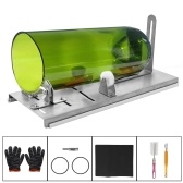 DIY Glass Bottle Cutter Adjustable Sizes Metal Glassbottle Cut Machine for Crafting Wine Bottles Household Glass Cutting Tool