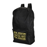 Metal Detector Carry Bag Outdoor Adventure Large Capacity Backpack Canvas Bags
