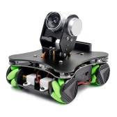 Codificação do carro do robô Mecanum Wheel Kit de robô inteligente Whit FPV Camera DIY 4WD Omni Mecanum Wheel Robô motorizado educacional para aluno de programação